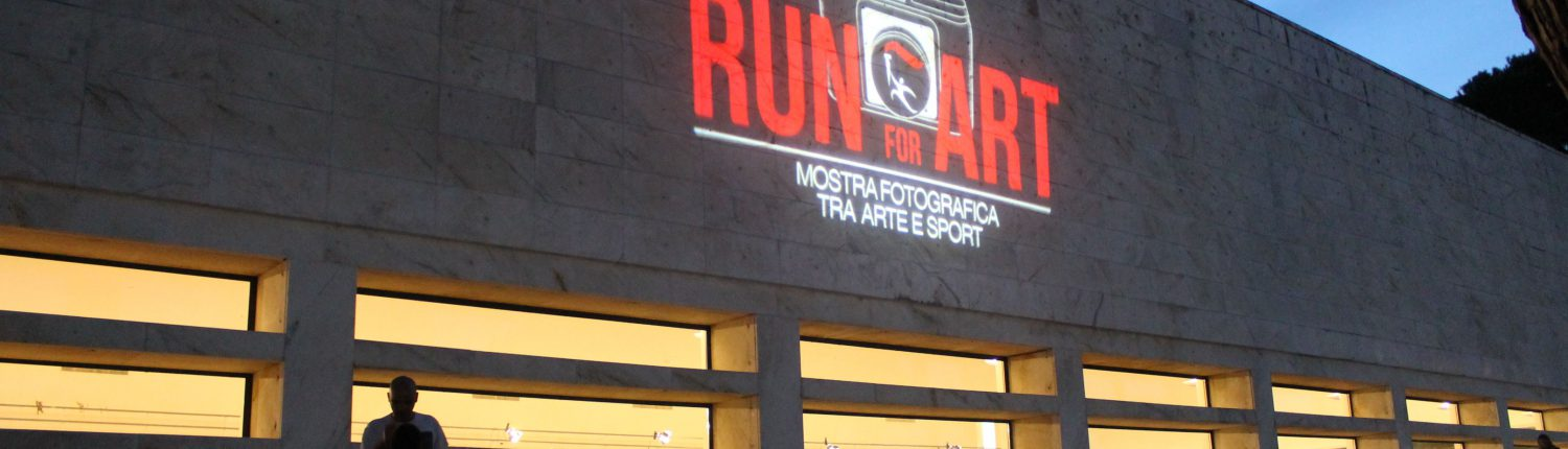 inaugurazione di Run for Art